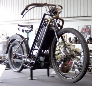 First production motorcycle