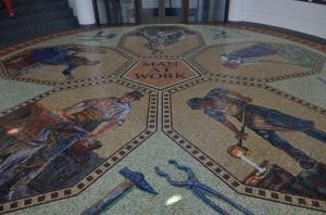 Grohmann Museum mosaic entrance-72