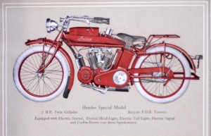 Hendee Special -- 1914 sales brochure.