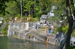 The Norcross quarry was the first marble quarry in the U.S.