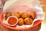 Conch fritters are my favorite fried fast food