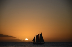 Key West claims to have the most beautiful sunsets in the U.S.