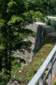 Arched Dam at Jones Locks
