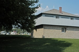 The main blockhouse is in Merrickville