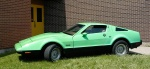 A Bricklin registered for the road