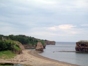 Salmon Beach on Chaleur Bay