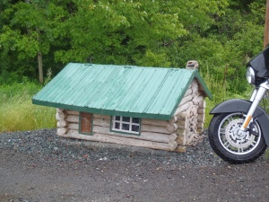 Traditional Acadian houses are small, but this one is tiny.