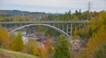 Arvida aluminum bridge