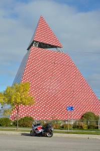 Pyramid de Ha! Ha! in La Baie