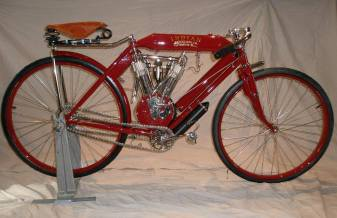 Restored 1907 Indian racer.