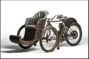 1907 Indian tri-car.